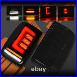 3D Stripe Bar Full LED Sequential Indicator Tail Lights for VW Amarok 2H 11-20