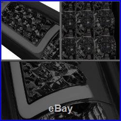 3d Led C-bar For 1988-2000 Chevy C/k Pickup Chrome Tint Tail Light Brake Lamp