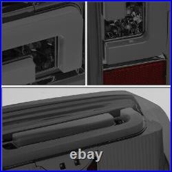 3d Led Neon Tube Barfor 90-97 Ford F150 F250 F350 Tail Light Brake Lamp Smoked