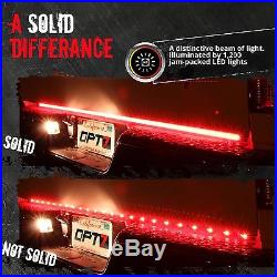 60 Tailgate 1200 LED Bar Sequential Turn Signal Back Up Brake Light for RAM