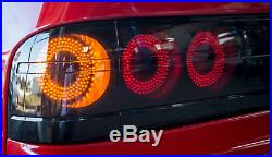 86-91 Mazda Rx7 Fc Led Smoked Brake Reverse Signal Tail Light Assy Right & Left