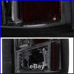 88-98 GMC Chevy Pickup Silverado Sierra Yukon Suburban Tahoe Smoke LED Taillight