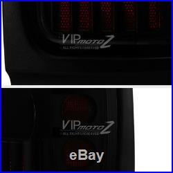 94-01 Dodge RAM PickUp Darkest SMOKE LED Neon Tube Rear Tail Singal Light Pair