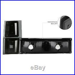 94 95 96 97 98 Chevy Silverado CK 1500 2500 Smoke Headlight LED Tail Lamp Lights