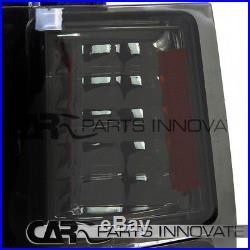94-98 Chevy C10 C/K 1500 Smoke Headlights Bumper Corner Lamps+LED Tail Lights