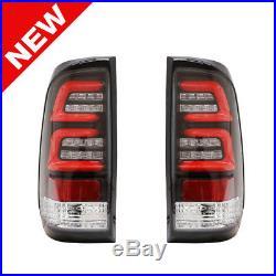 97-03 FORD F150 99-07 F250 F350 F450 F550 LED Taillights Clear/Black/Red