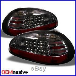 97-03 Pontiac Grand Prix Smoked Philips Lumileds LED Tail Lights Brake Lamp Pair