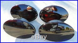 97-04 Corvette C5 Smoked Tail Lights OEM CUSTOM Black Non led Tinted Chevy