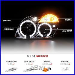 98-04 M-Benz R170 SLK230 SLK320 SLK32 Angel Eye Headlights LED Red Tail Lights