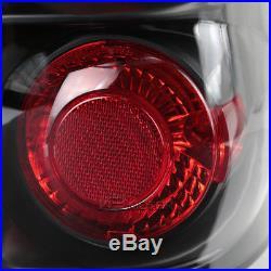 99-03 GMC Sierra Black LED Halo Projector Headlights+Bumper+Tail Lights