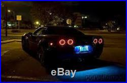 AUTHENTIC with Warranty! C6 Corvette LED Tail Lights Eagle Eye Brand 2005-2013