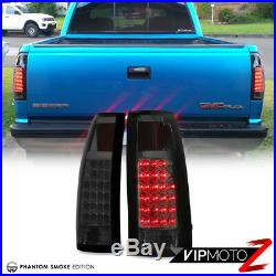 All Smoke LED Tail Brake Lamp Headlight For 94-98 Chevy Tahoe Silverado Suburban