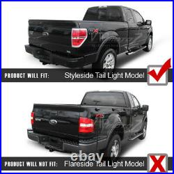 BLACK OUT 2009-2014 Ford F150 LED SMD Rear Brake Tail Lights Lamps PAIR LH RH