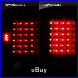 BLACK SMOKED 94-01 Dodge Ram Pickup LED Tail Brake Lights Lamps Left + Right