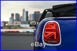 BMW-MINI OEM UK Union Jack LED Taillights Set MINI Cooper S JCW One F55 F56 F57
