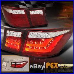 BRIGHT Lexus 2007-2009 LS460 L. E. D. Reverse/Brake/Signal LED Tail Lights Red