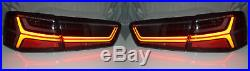 Back Rear Tail Lights Audi A6 C7 (saloon, 04/11-10/14) Smoked Dynamic LED