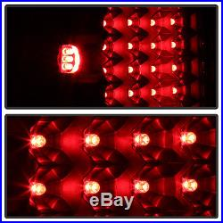 Black 1994-2001 Dodge Ram 1500 94-02 2500 3500 LED Tail Lights Lamps Left+Right