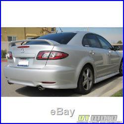 Black 2003-2008 Mazda 6 Mazda6 Lumileds LED Tail Lights Brake Lamps Left+Right