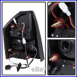 Black 2005-2007 Chrysler 300 LED Tail Lights Brake Lamps Left+Right Aftermaket
