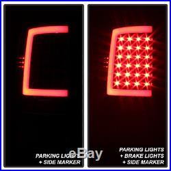 Black 2009-2017 Dodge Ram 1500 10-17 2500 3500 LED Bar Tail Lights Brake Lamps