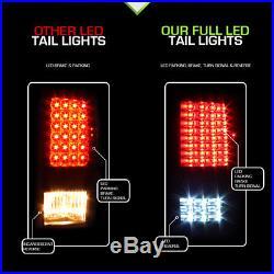 Black 2009-2018 Dodge Ram 1500 10-18 2500 3500 Full LED Tail Lights Brake Lamps