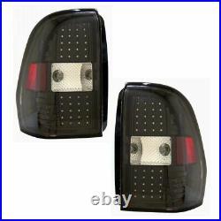 Black Bezel Performance LED Taillight Taillamp Pair Set for Trailblazer EXT