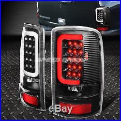 Black Clear 3d Led Brake Tail Light For 00-06 Gmc Yukon Denali/suburban/tahoe