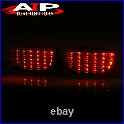 Black Clear LED Tail Lights Lamps Sequential Signal For 2010-2013 Chevy Camaro