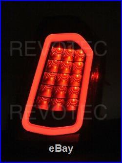 Black Full LED Tail Lights For 11-14 Chrysler 300 RH + LH w LED Reverse / Signal
