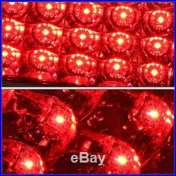 Black Headlight+amber Corner+bumper+red Led Tail Light For 94-02 Chevy C10 C/k