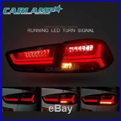 Black LED Headlights & Tail Lights Smoked For Mitsubishi Lancer EVO X 2008-2017