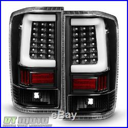 Black LED Light Tube Style For 2004-2015 Titan A60 LED Tail Lights Brake Lamps