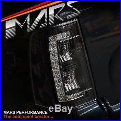 Black LED Tail Lights Ford FG Falcon UTE XR6 XR8 Turbo R6 FPV GS F6 Pursuit