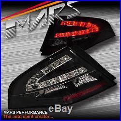 Black LED Tail Lights Ford Falcon FPV FG Sedan G6E Turbo XT XR6 XR8 BOSS GT GS