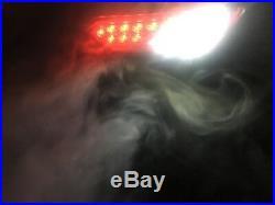Black LED Tail Lights With REVERSE LIGHTS 14-18 POLARIS RZR 1000 XP & S backup