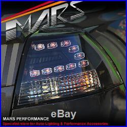 Black LED Tail Lights for Holden Commodore VE Sedan Omega SV6 SS-V Series 1 2
