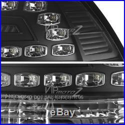 Black Left+Right SMD Tail Light LED Brake Lamps Assembly 08-09 Pontiac G8 GXP/GT