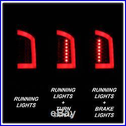 Black Smoek 2002-2006 Dodge Ram 1500 03-06 2500 3500 LED Tube Tail Lights Lamps