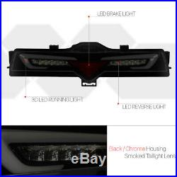 Black/Smoke3D LED BARRear Third 3RD Tail Brake Light Lamp for 13-19 FRS/86/BRZ