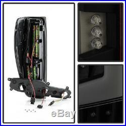 Black Smoke 2004-2012 Chevy Colorado GMC Canyon LED Tube Tail Lights Brake Lamps