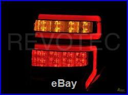 Black Smoke LED Tail Lights For Toyota 2014-2020 4Runner RH + LH