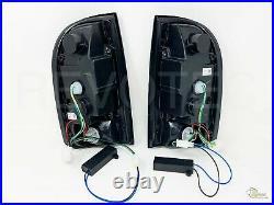 Black Smoke LED Tail Lights Lamps For 95-00 Toyota Tacoma Pickup 96 97 98 99