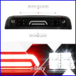 Black Smoke Rear LED Bar Third3rdBrake Light Cargo for 14-18 Silverado/Sierra