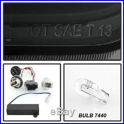 Black Smoked 2014-2019 Chevy Impala LED Light Tail Lights Brake Lamps Left+Right