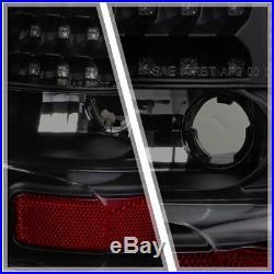 Black/Smoked FULL LED Tail Light Brake Lamp for 00-06 GMC Yukon/Tahoe/Suburban