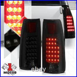 Black/Smoked FULL LED Tail Light Rear Brake Lamp for 88-00 Chevy C/K Suburban