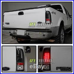 Blk 1997-2003 Ford F150 1999-2007 F250 F350 F450 Superduty LED Tail Lights Lamps