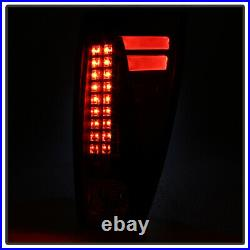 Blk 2002-2006 Chevy Avalanche 1500 2500 Lumiled LED Tail Lights Lamps Left+Right