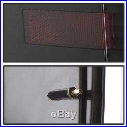 Blk 2009 2010 2011 2012 2013 2014 Ford F150 Dual LED Bar Tail Lights Brake Lamps